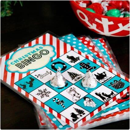 Christmas Book Bingo