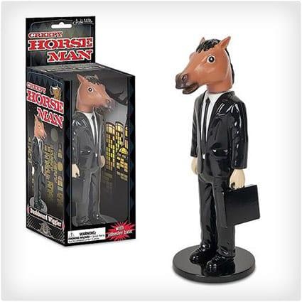 Creepy Horse Man Wiggler Figure