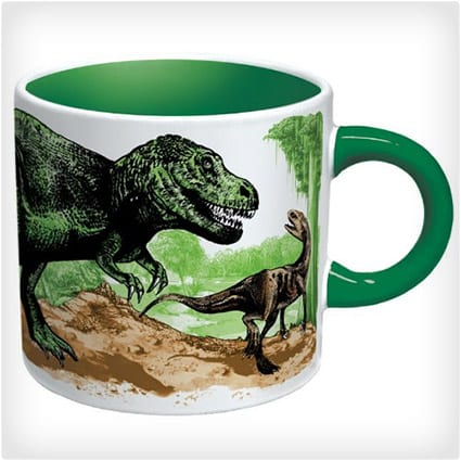 Disappering Dino Mug