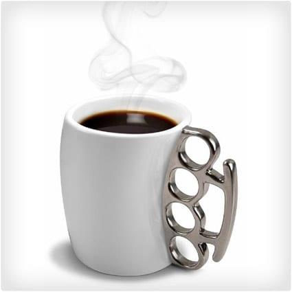 Fisticup Metallic-Handled Mug