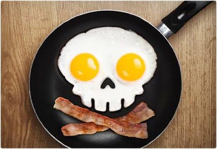 Funny Side Up Egg Mold