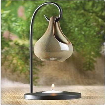 Hanging Tear Drop Oil Warmer