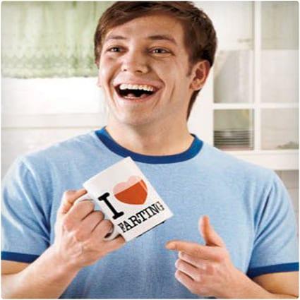 I Love Farting Coffee Mug