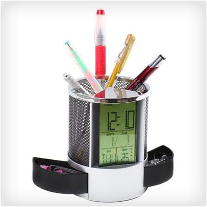 Multifunctional Pen Holder
