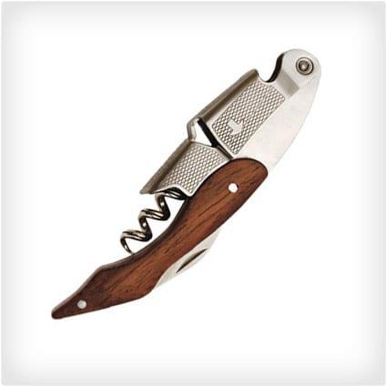 Wood Professional Corkscrew