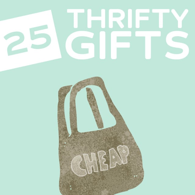25 Thrifty Gift Ideas for Men