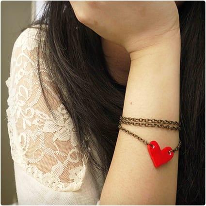 Cute Heart Bracelet
