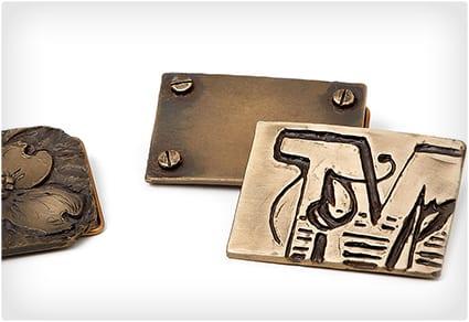 Design Your Own Bronze Belt Buckle