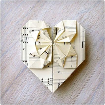 Origami Valentine's Card