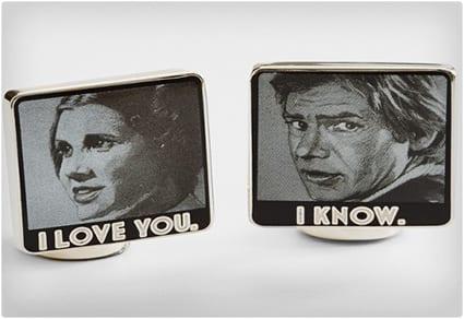 Star Wars I Love You Cufflinks