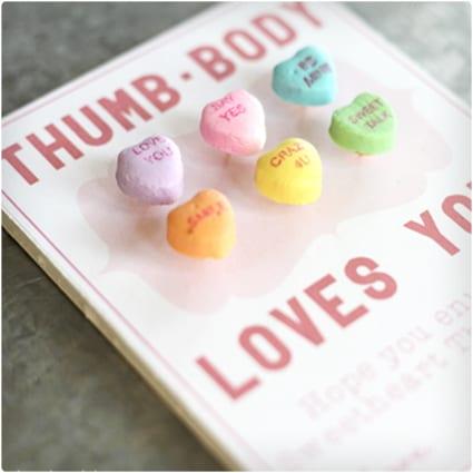 Thumb Body Loves You Valentine