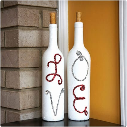 Valentine's Day Bottles