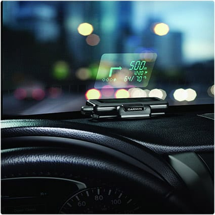 Windshield Projected GPS