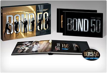 Bond 22-Film Blu-ray Collection