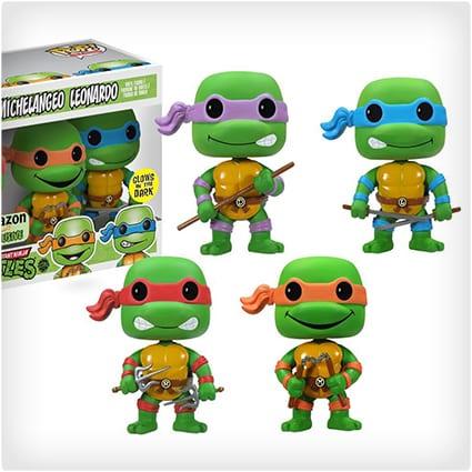 4 Piece Pop Vinyl Ninja Turtles Set