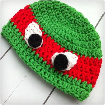 Crochet TMNT Beanies