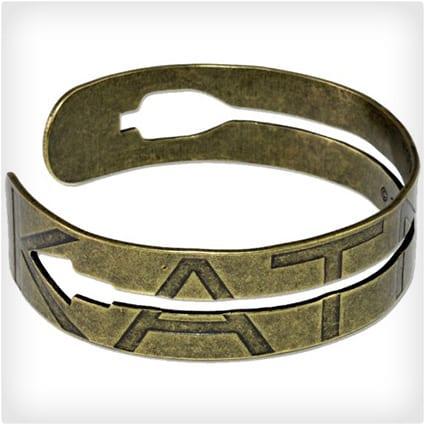 Cutout Arrow Metal Cuff