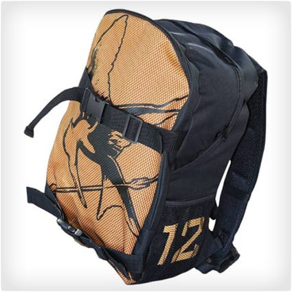 Double Buckle District 12 Backpack