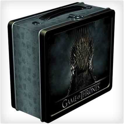 Iron Throne Lunchbox