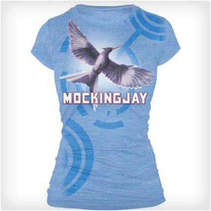 Mockingjay Bookart Shirt