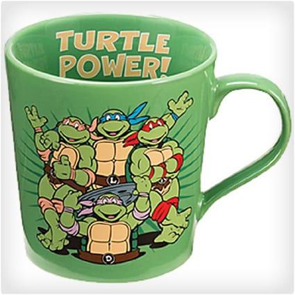 Ninja Turtles Retro Mug