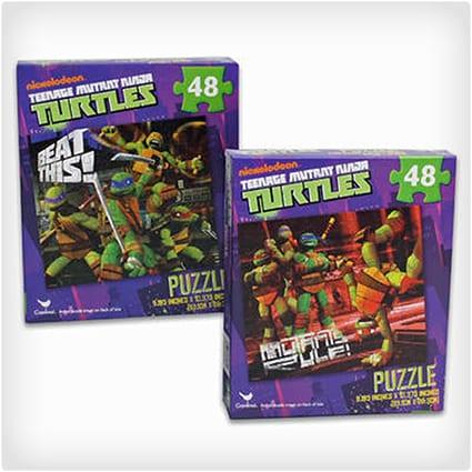 TMNT Puzzle 2 Pack