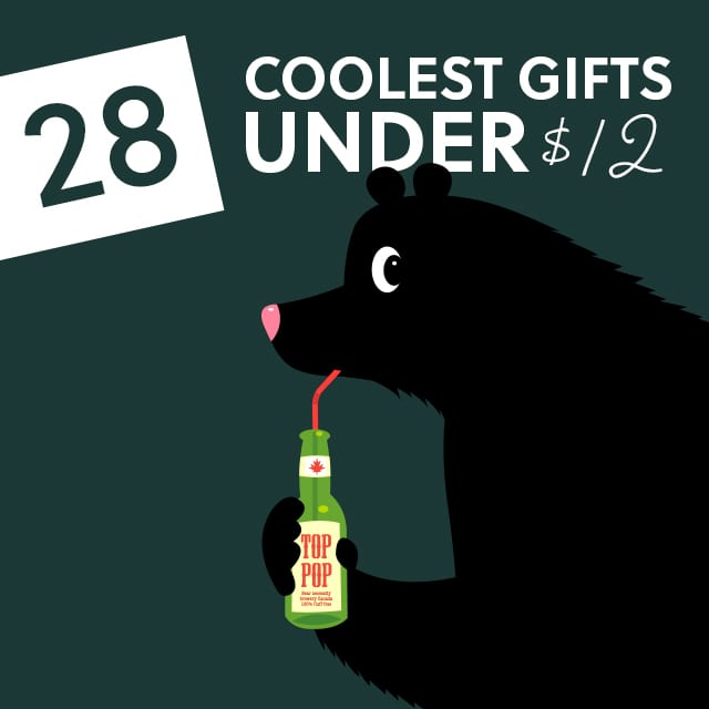28 Coolest Gifts under $12 - Dodo Burd