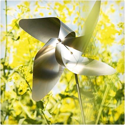 3D Garden Pinwheels