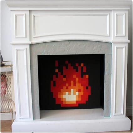 8-Bit Fire