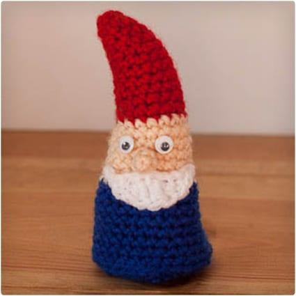 Amigurumi (Crocheted) Gnome