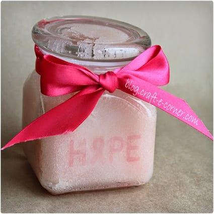 Breast Cancer Awareness Hand Scrub