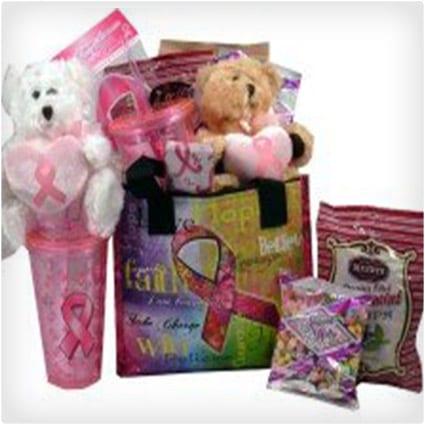 Breast Cancer Survivor Gift Basket