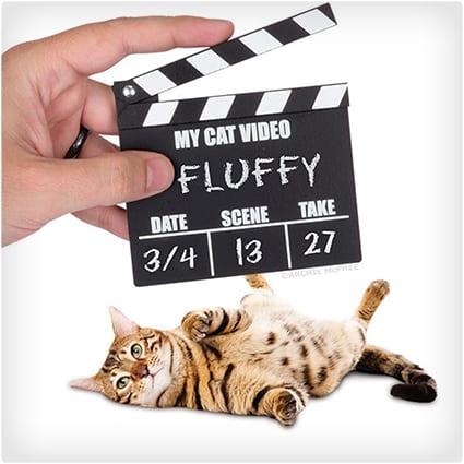 Cat Video Clapper Board