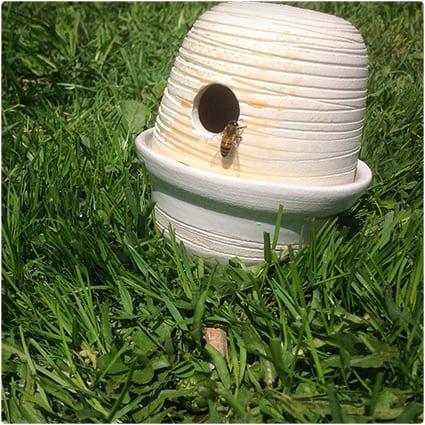 Ceramic Bee Feeder