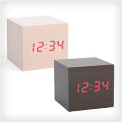 Clap On Cube Alarm Clock