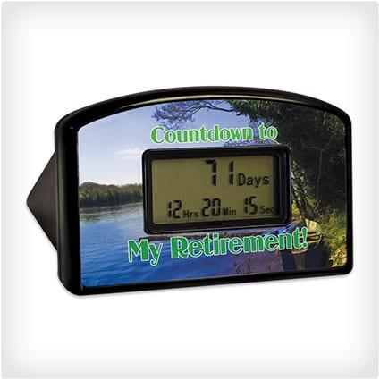 Countdown to Retirement Clock