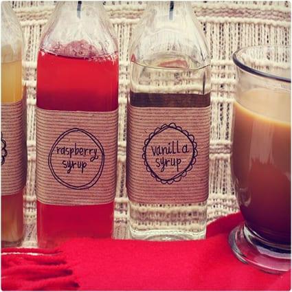 DIY Coffee Flavor Syrups