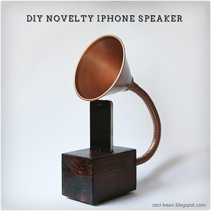 DIY Gramophone IPhone Speaker