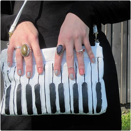DIY Piano Clutch