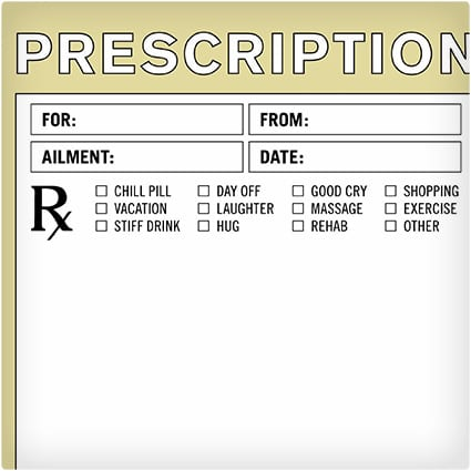 Fake Prescription Pad