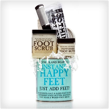 Happy Feet Pedicure Can Gift Set