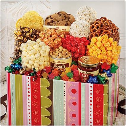 Jumbo Popcorn Sampler