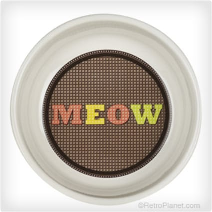 Meow Cross-Stitch Bowl