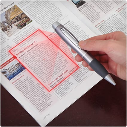 Pen-Sized Scanner