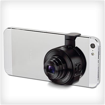 Smartphone to Telephoto Camera