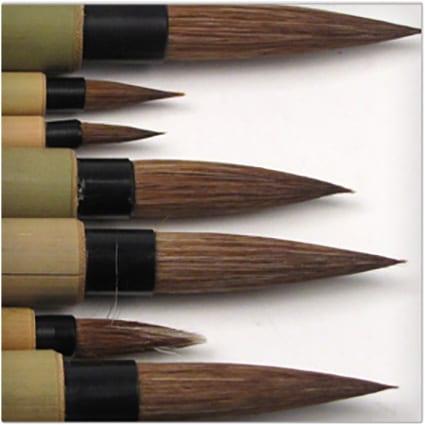 Bamboo Brushes