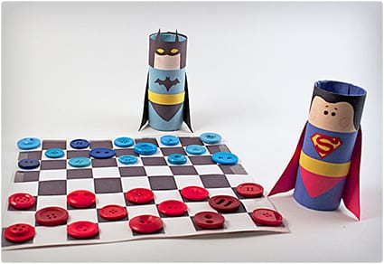 Batman vs. Superman Checkers