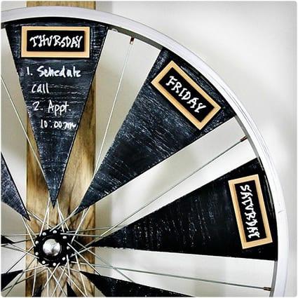 Bicycle Wheel Calendar