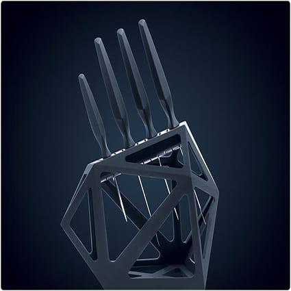 Black Diamond Knife Set