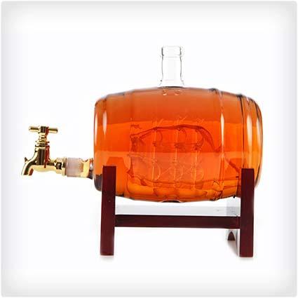 Bourbon Decanter and Drink Dispenser